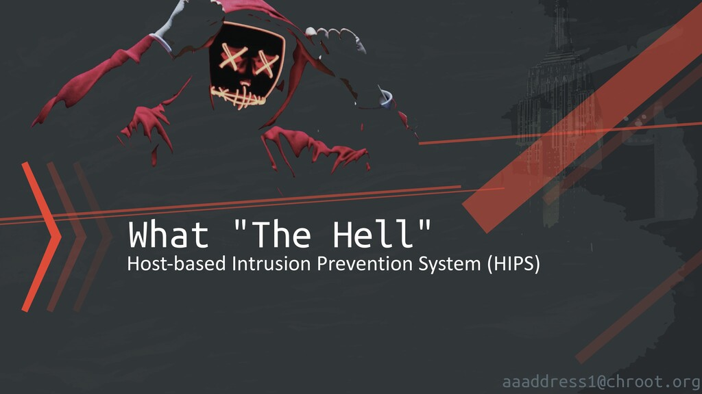"""aaaddress1@chroot.org 〉〉〉What """"The Hell"""" Host-b..."""