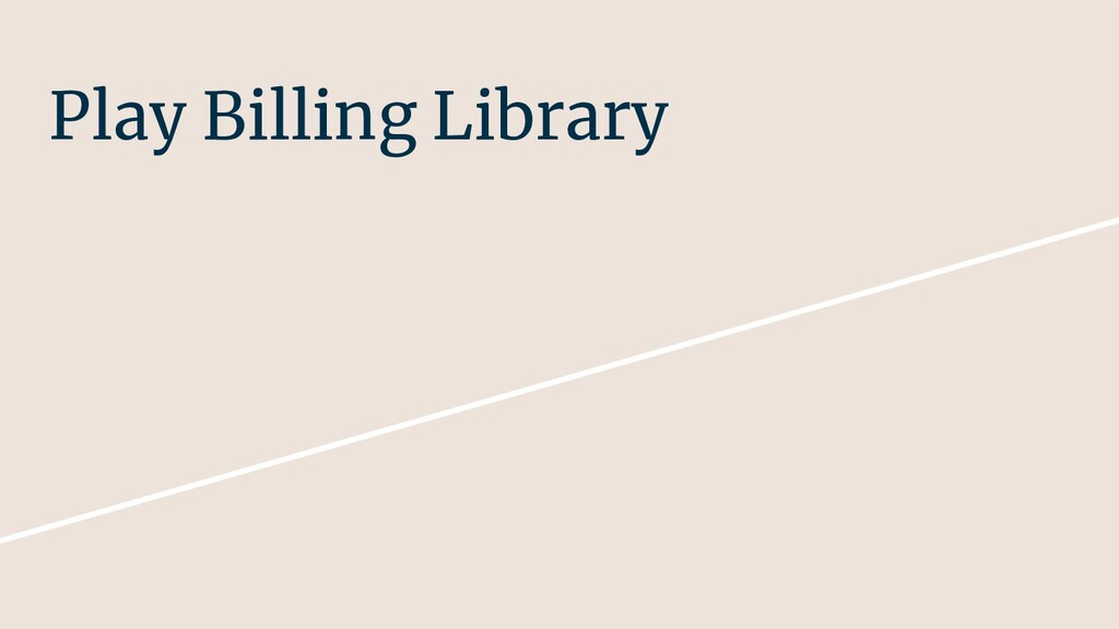 Play Billing Library