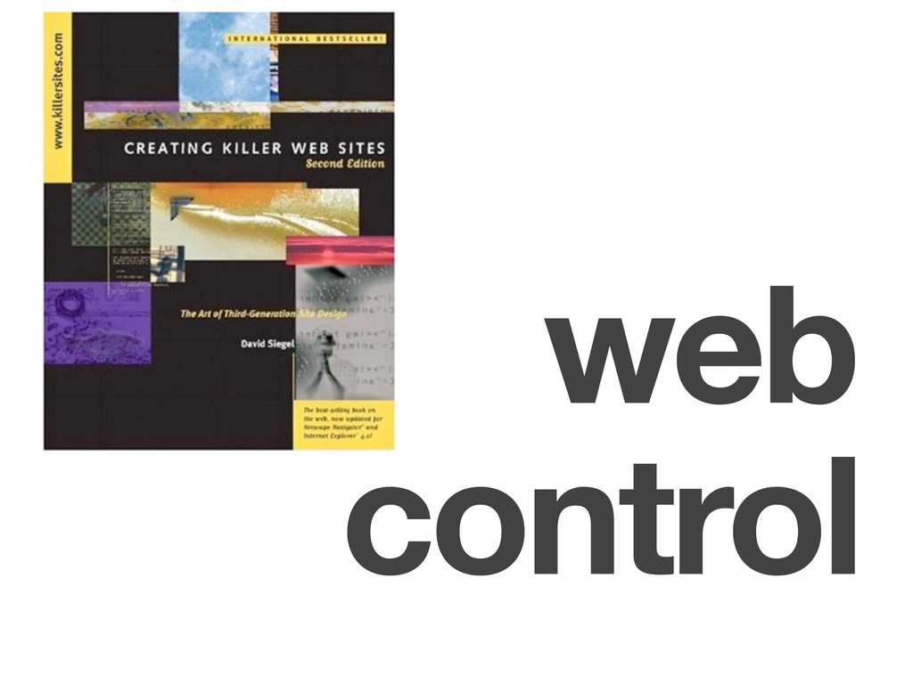 control web