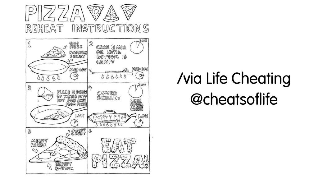 /via Life Cheating @cheatsoflife