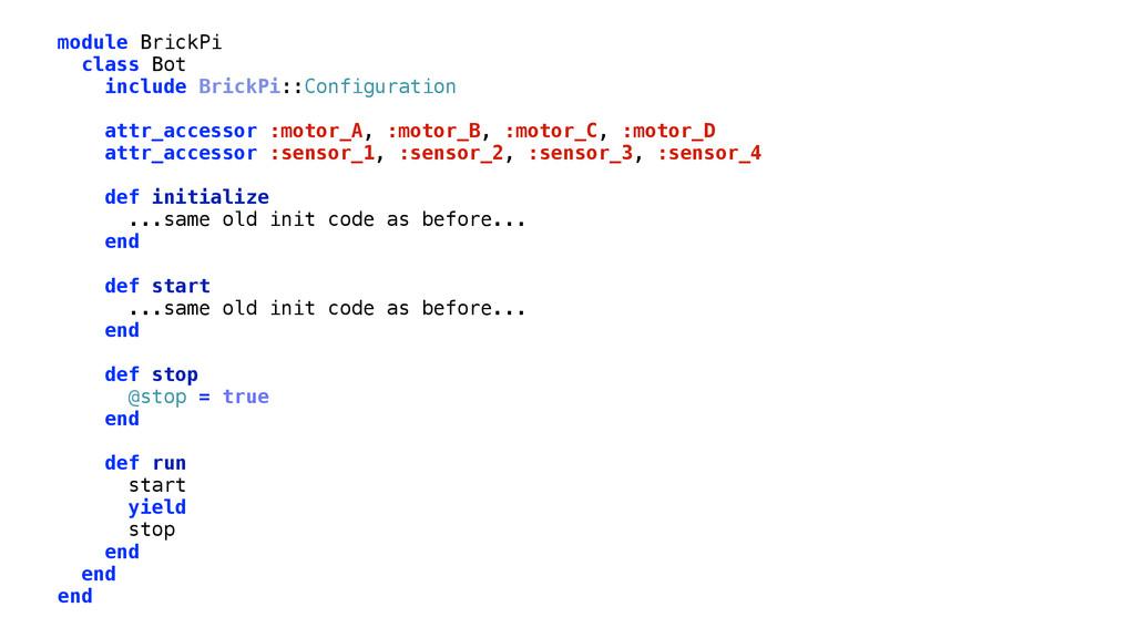module BrickPi class Bot include BrickPi::Confi...