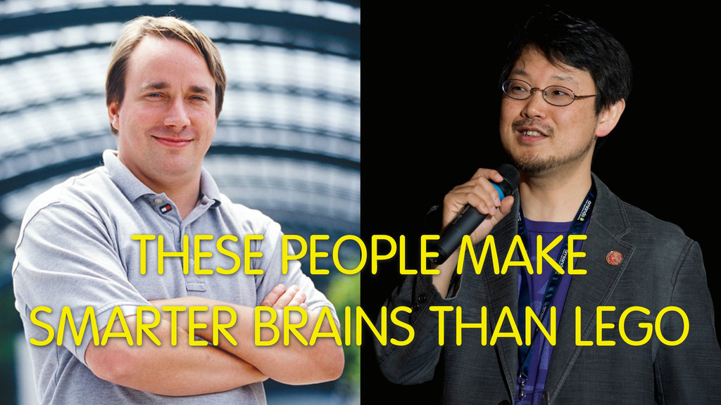 THESE PEOPLE MAKE SMARTER BRAINS THAN LEGO