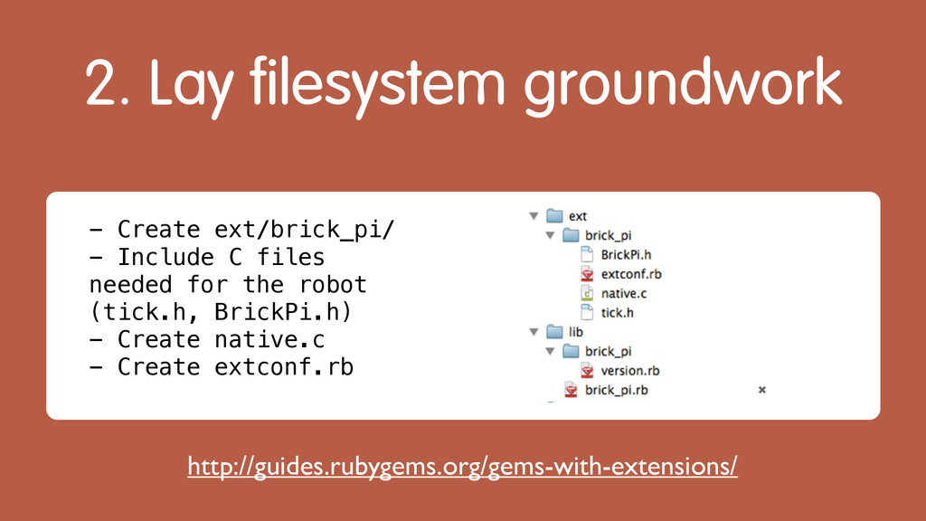 2. Lay filesystem groundwork http://guides.ruby...