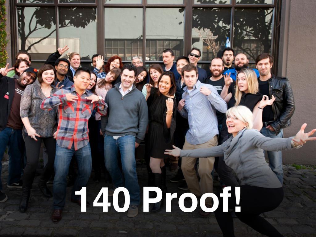 140 Proof!