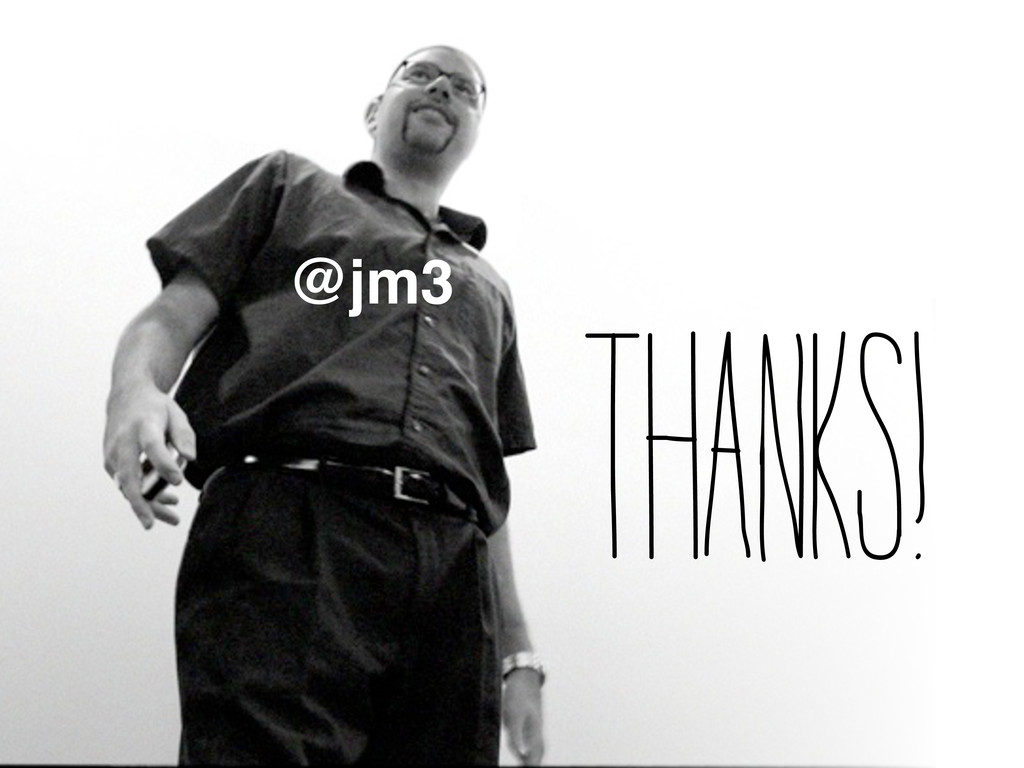 Thanks! @jm3
