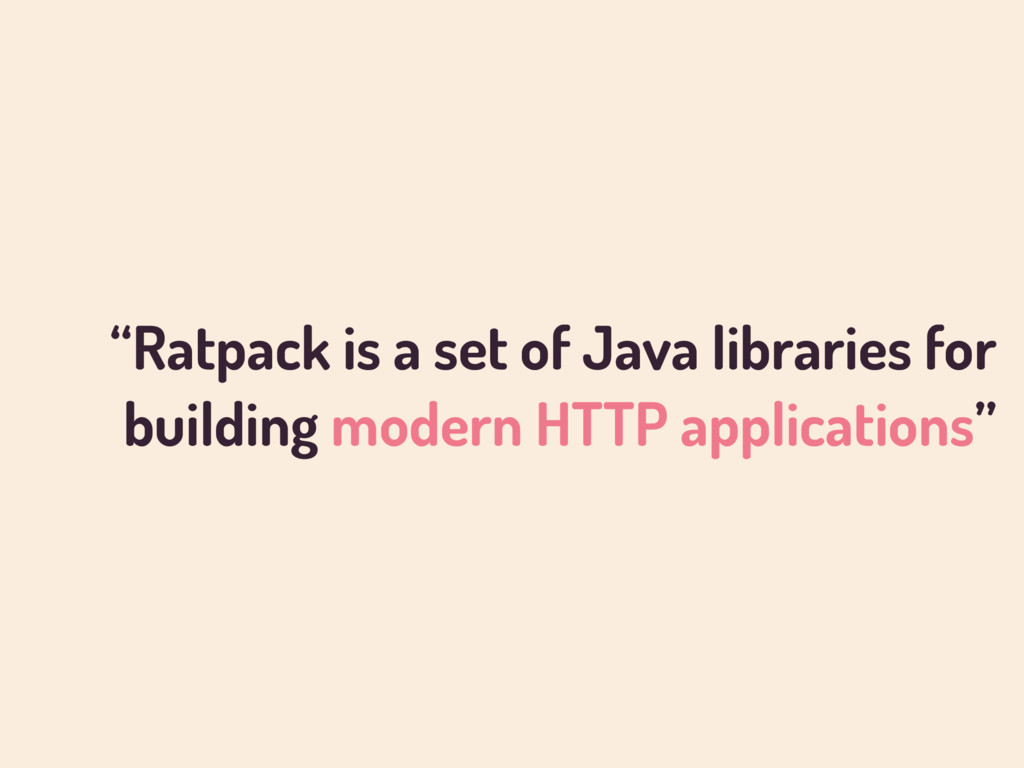 """Ratpack is a set of Java libraries for buildin..."