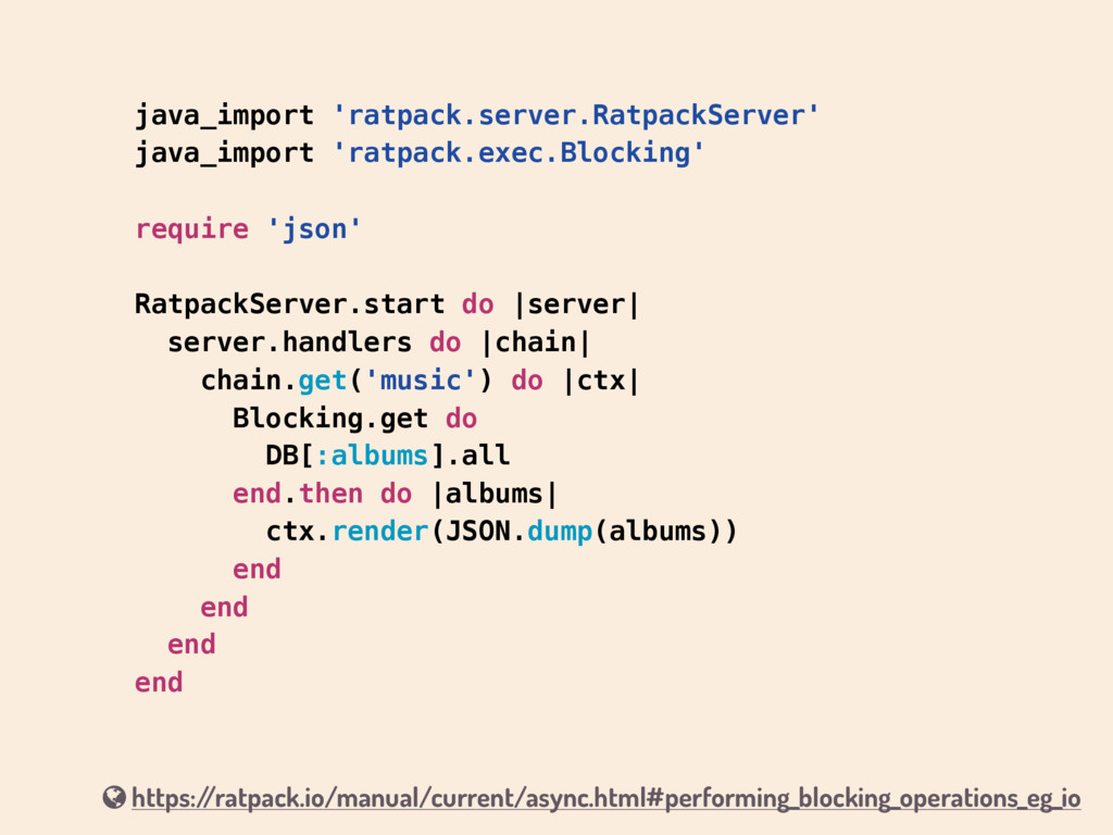 java_import 'ratpack.server.RatpackServer' java...