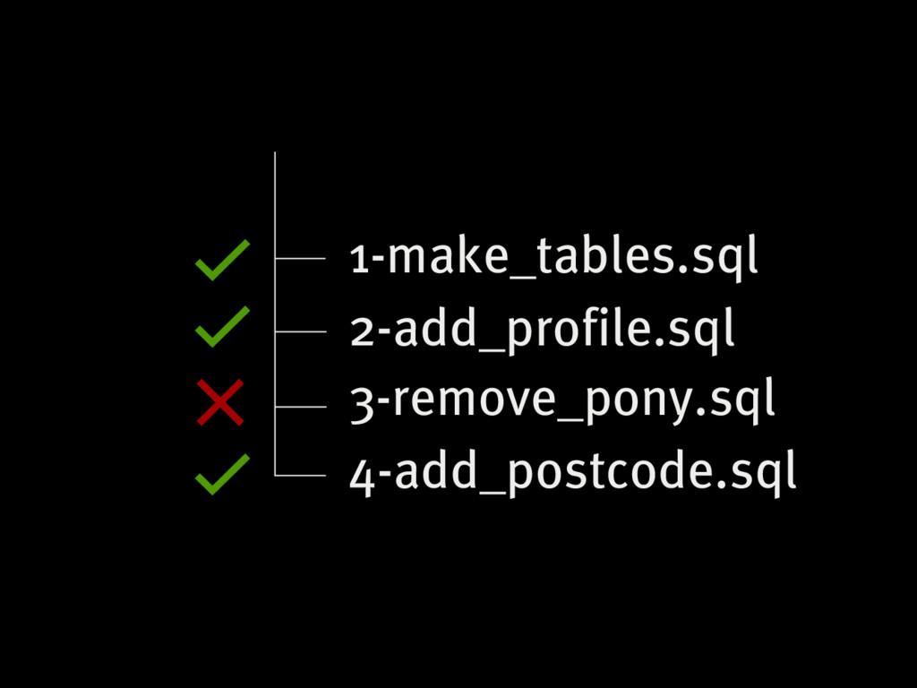 3-remove_pony.sql 1-make_tables.sql 2-add_profi...