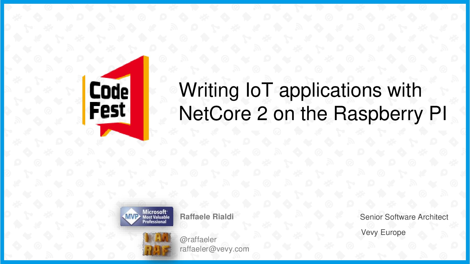 Writing IoT applications with NetCore 2 on the ...