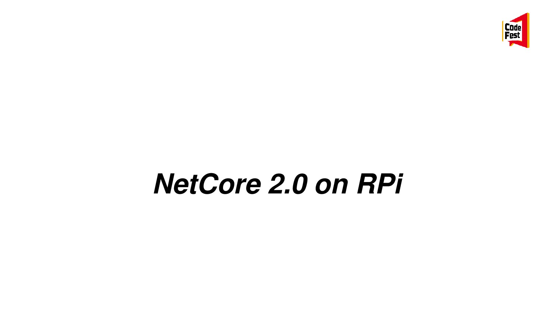 NetCore 2.0 on RPi