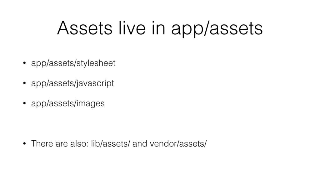 Assets live in app/assets • app/assets/styleshe...