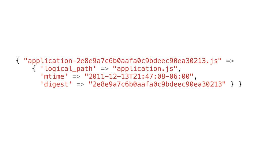 """{ """"application-2e8e9a7c6b0aafa0c9bdeec90ea30213..."""