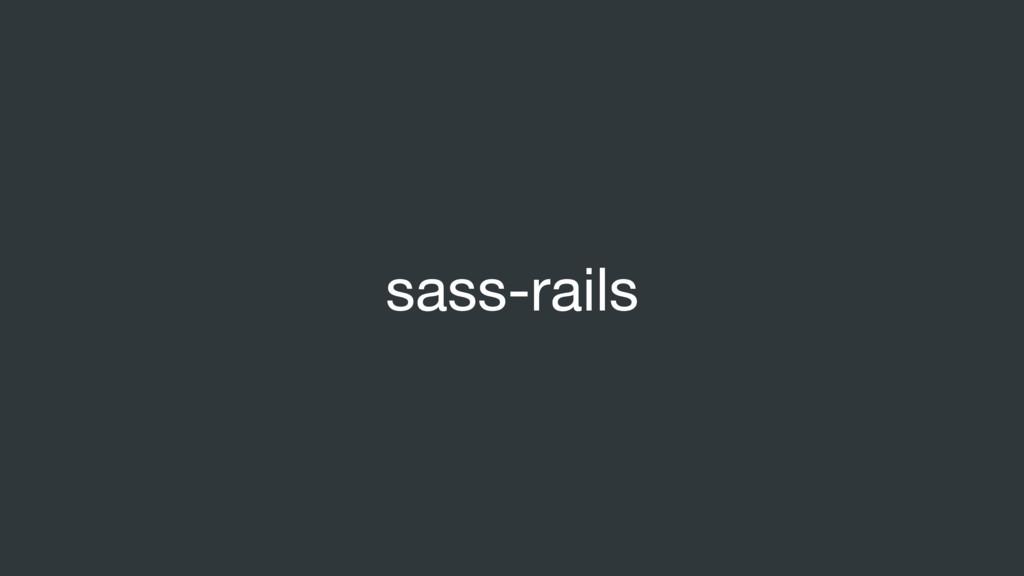 sass-rails