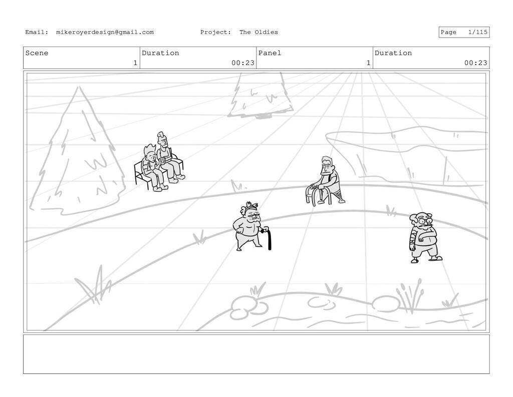 Scene 1 Duration 00:23 Panel 1 Duration 00:23 E...