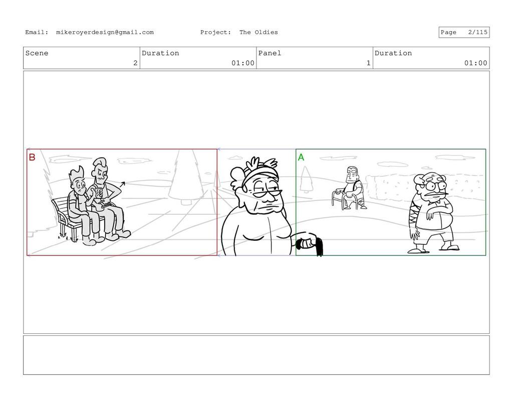 Scene 2 Duration 01:00 Panel 1 Duration 01:00 E...