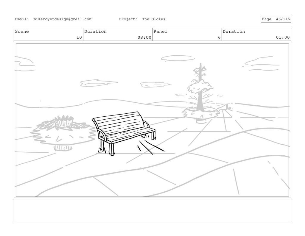 Scene 10 Duration 08:00 Panel 6 Duration 01:00 ...