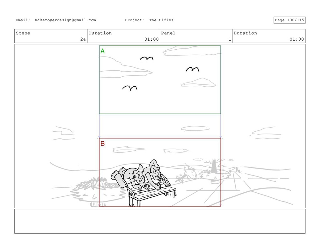 Scene 24 Duration 01:00 Panel 1 Duration 01:00 ...
