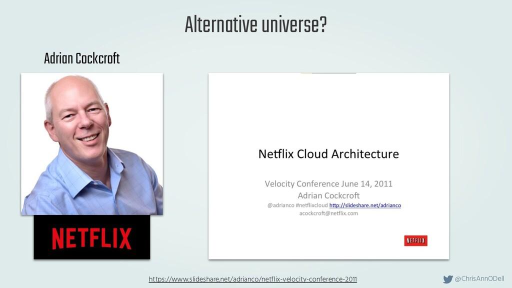 @ChrisAnnODell Alternative universe? Adrian Coc...