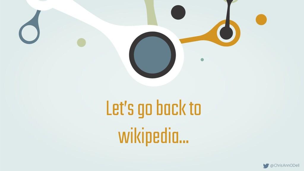 @ChrisAnnODell Let's go back to wikipedia...