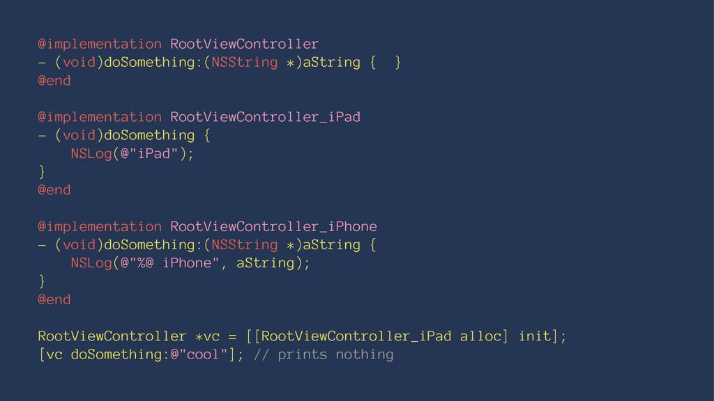 @implementation RootViewController - (void)doSo...