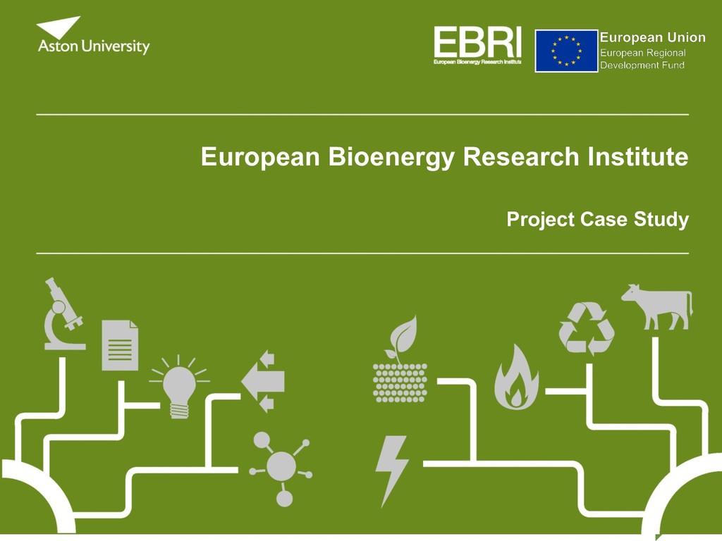 European Bioenergy Research Institute Project C...