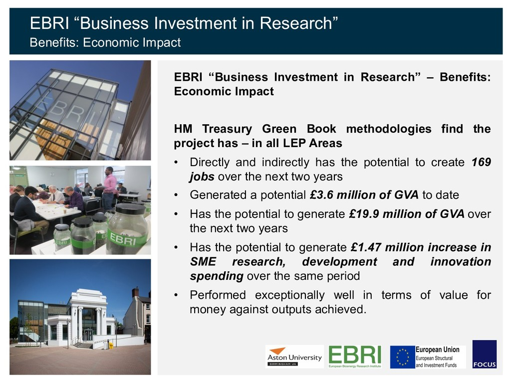 """EBRI """"Business Investment in Research"""" Benefits..."""