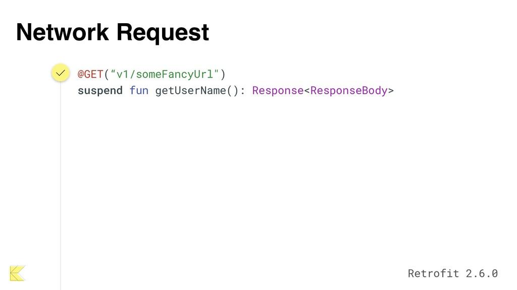 """Network Request @GET(""""v1/someFancyUrl"""") suspend..."""