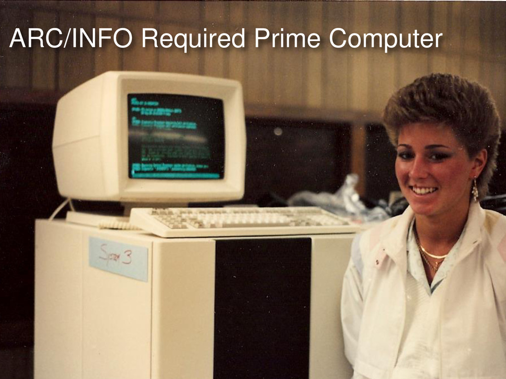 ARC/INFO Required Prime Computer
