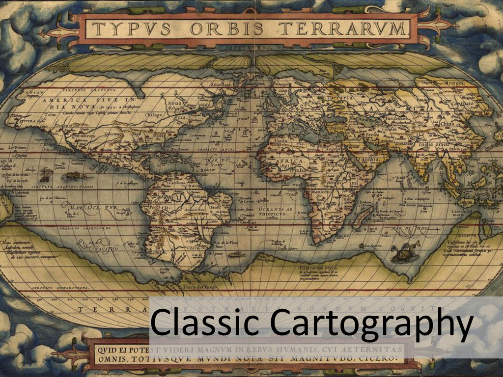 Classic Cartography