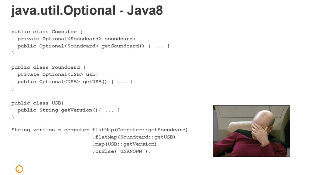 java.util.Optional - Java8 public class Compute...