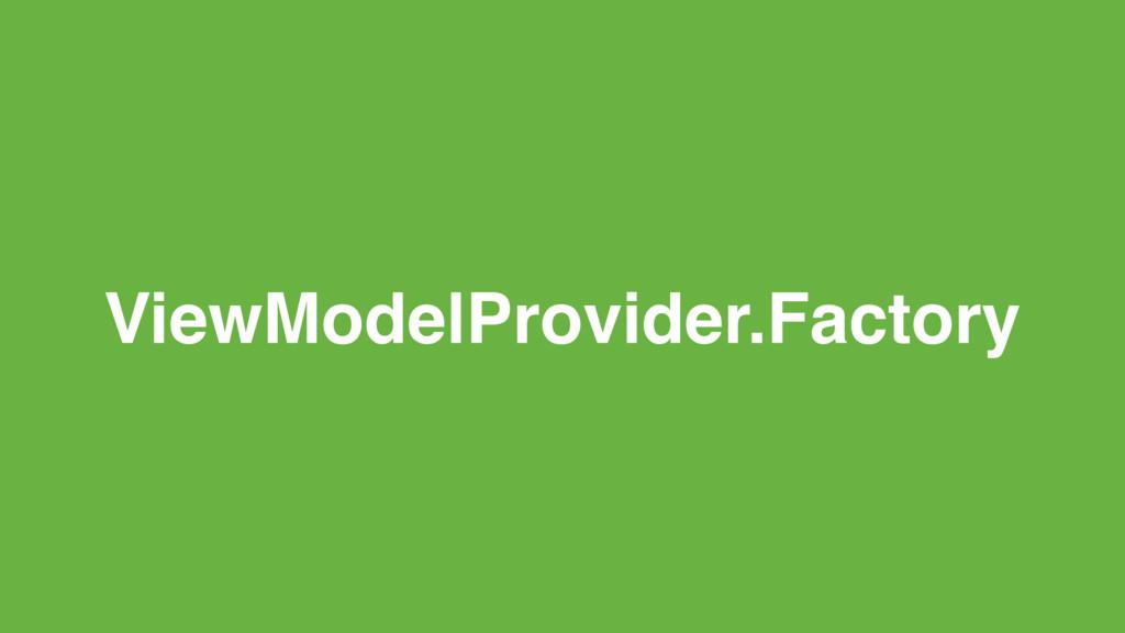 ViewModelProvider.Factory