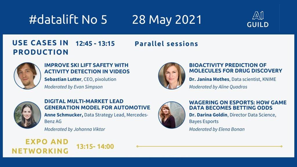 #datalift No 5 28 May 2021