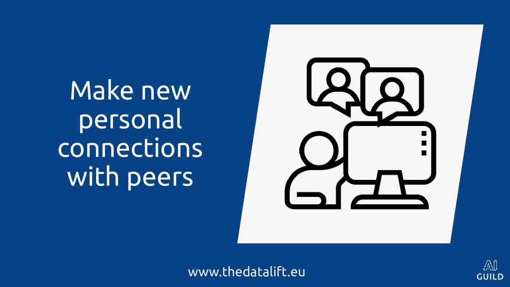 Make new personal connections with peers www.th...