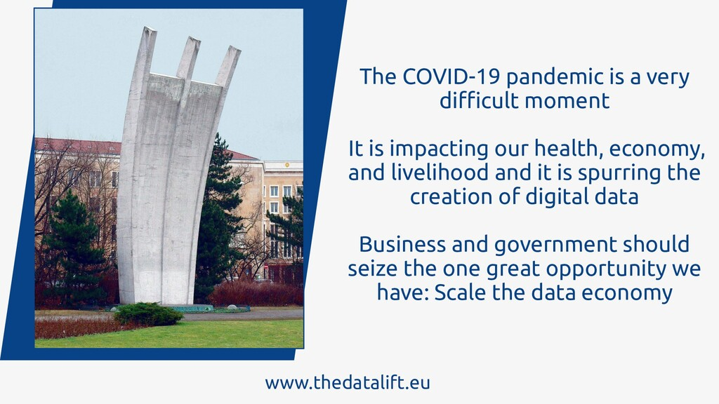 The COVID-19 pandemic is a very difficult moment ...