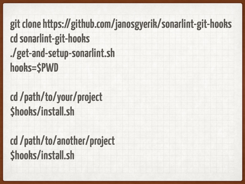 git clone https://github.com/janosgyerik/sonarl...