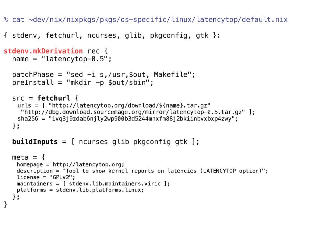 % cat ~dev/nix/nixpkgs/pkgs/os-specific/linux/l...
