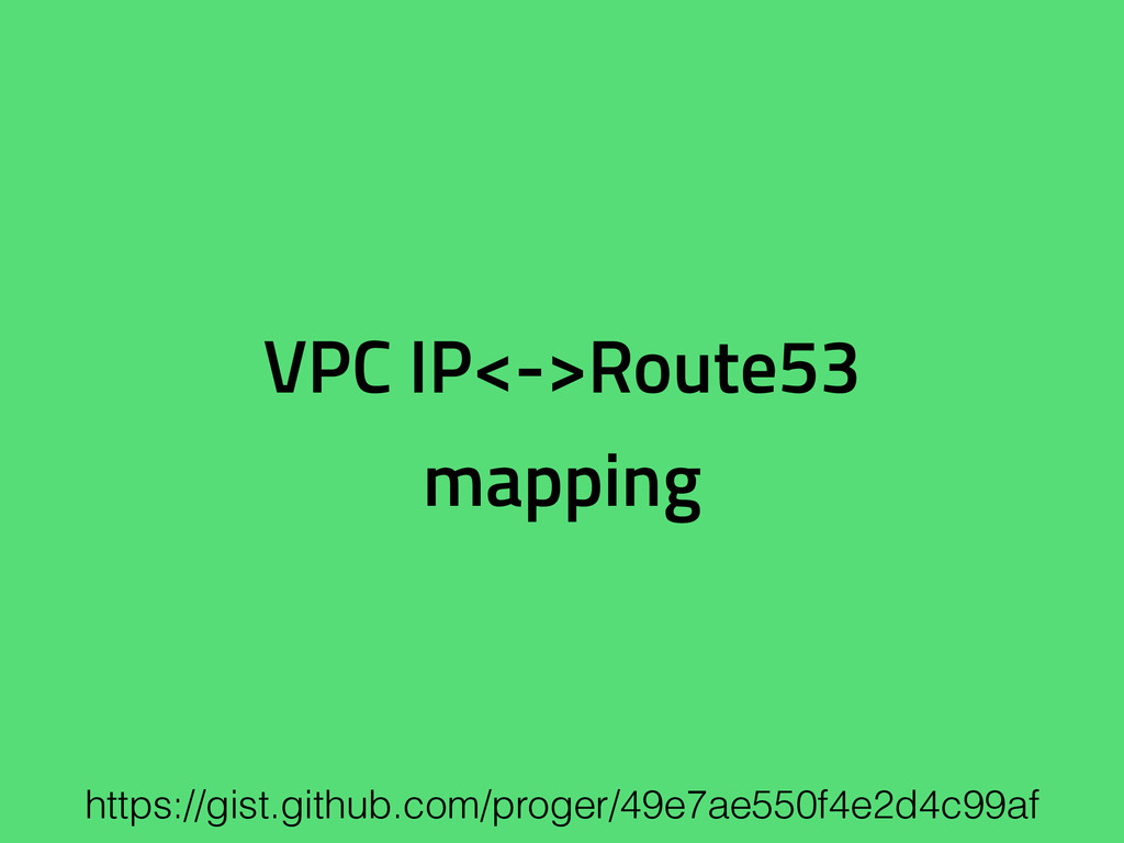 VPC IP<->Route53 mapping https://gist.github.co...