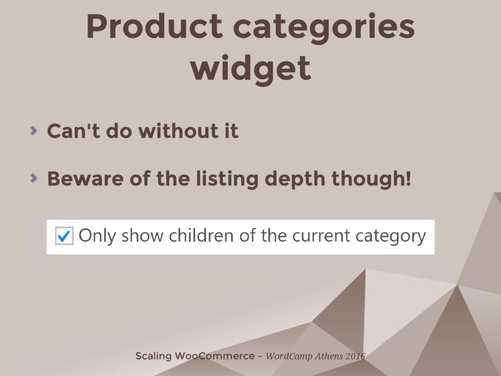Scaling WooCommerce - WordCamp Athens 2016 Prod...