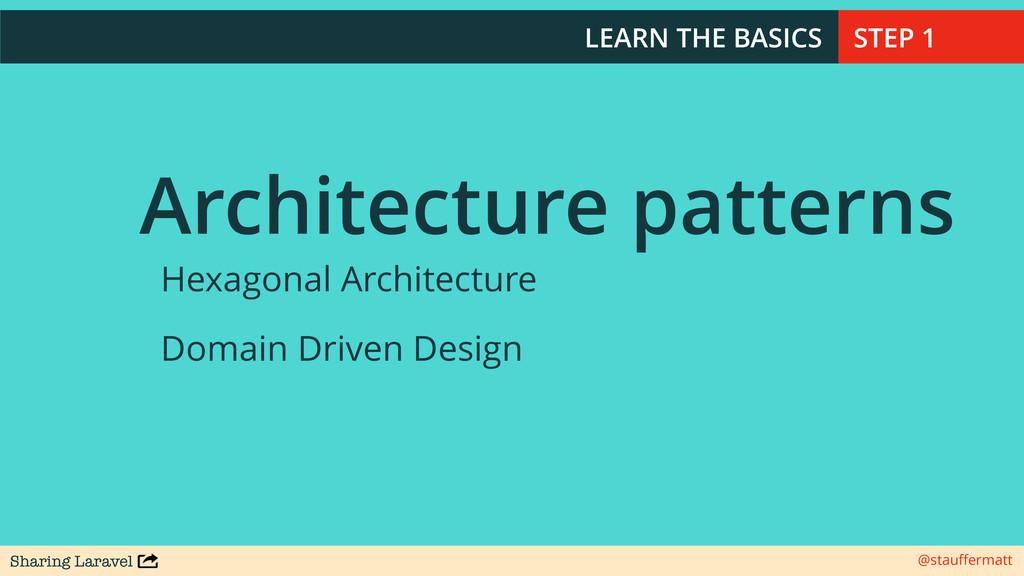 Sharing Laravel @stauffermatt LEARN THE BASICS A...