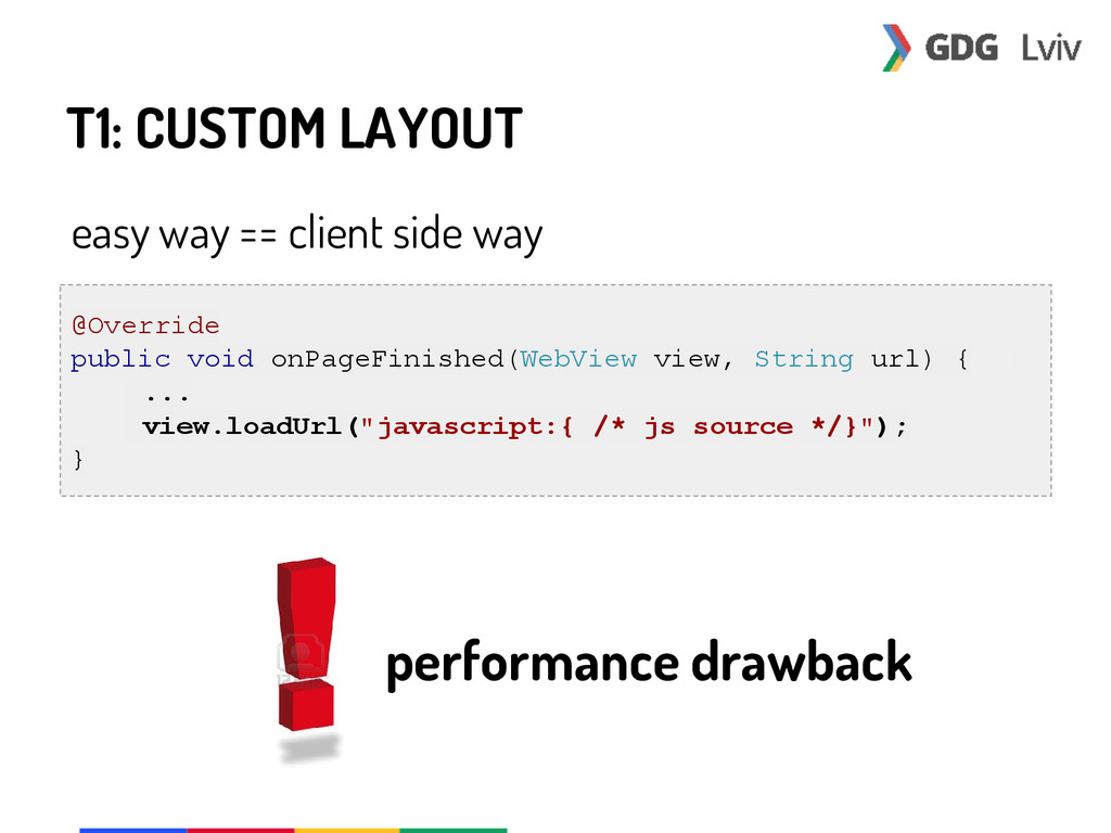 T1: CUSTOM LAYOUT easy way == client side way @...