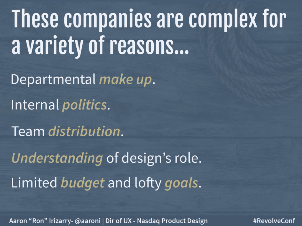 These companies are complex for a variety of r...