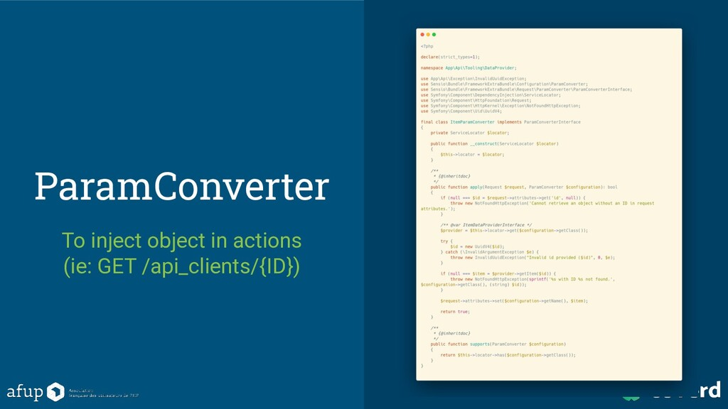 ParamConverter To inject object in actions (ie:...