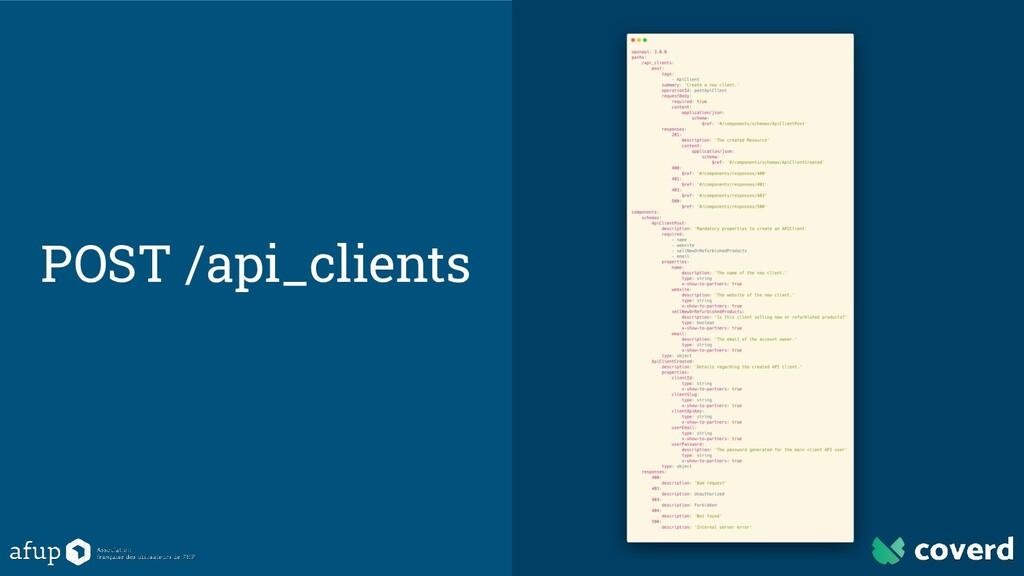 POST /api_clients