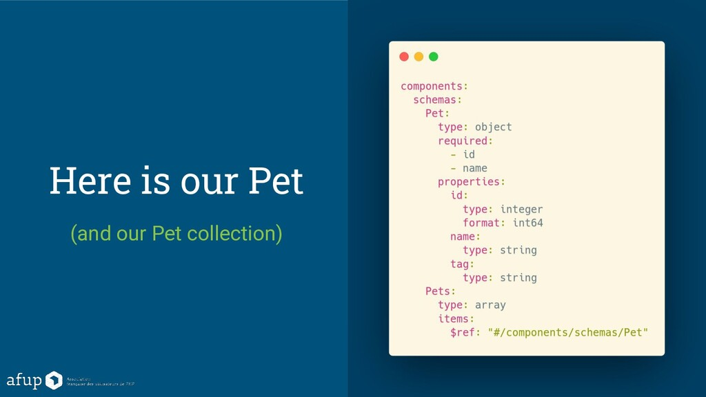 Here is our Pet (and our Pet collection)