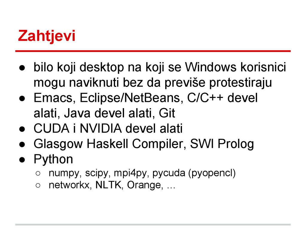 ● bilo koji desktop na koji se Windows korisnic...