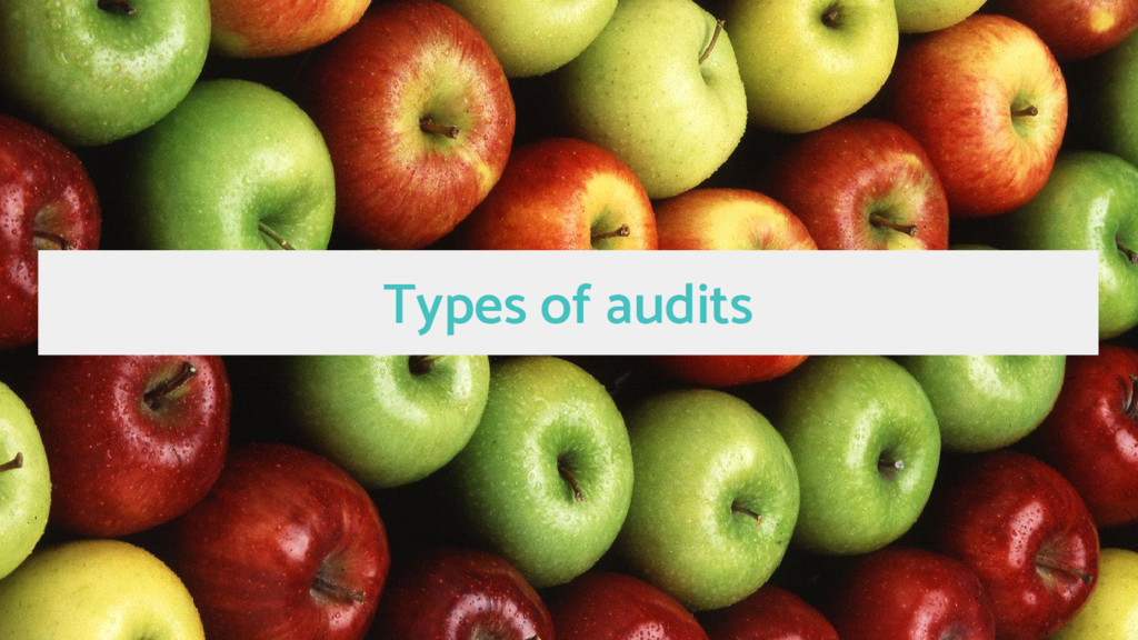 Types of audits