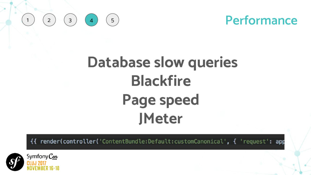Performance Database slow queries Blackfire Pag...