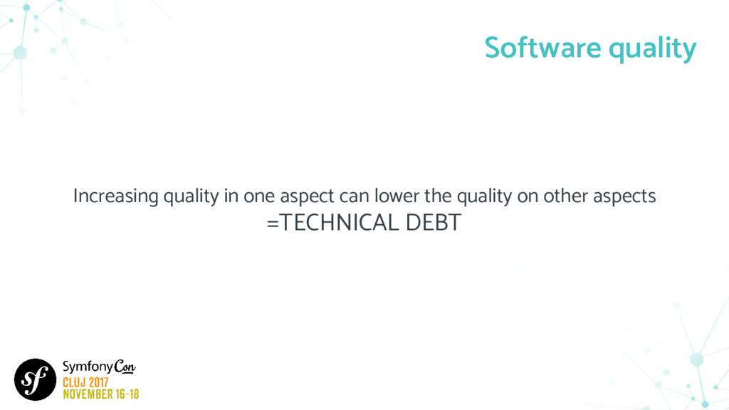 Increasing quality in one aspect can lower the ...