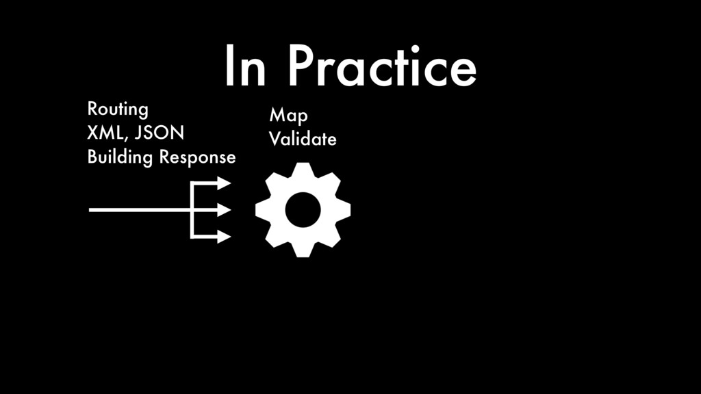 In Practice Map Validate Routing XML, JSON Buil...