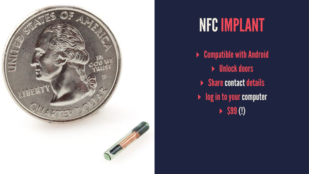 NFC IMPLANT ▸ Compatible with Android ▸ Unlock ...